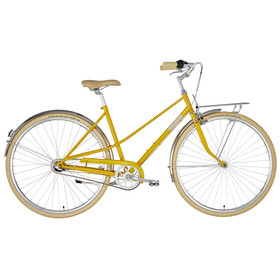 Creme Caferacer Uno City Bike Women yellow